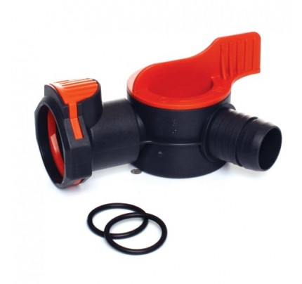 Fluval Aquastop Valve with 2 O-Rings for FX5/FX6