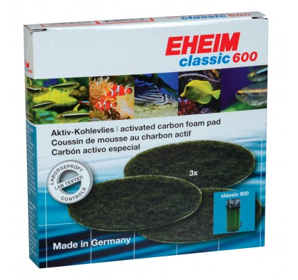 Eheim Carbon Filter Pads for 2217 Canister Filter - 3 pk