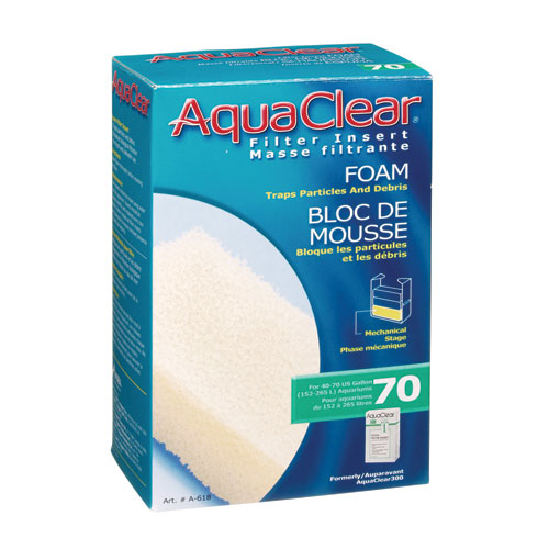 Foam Filter Insert for AquaClear 70/300 - 1 pk