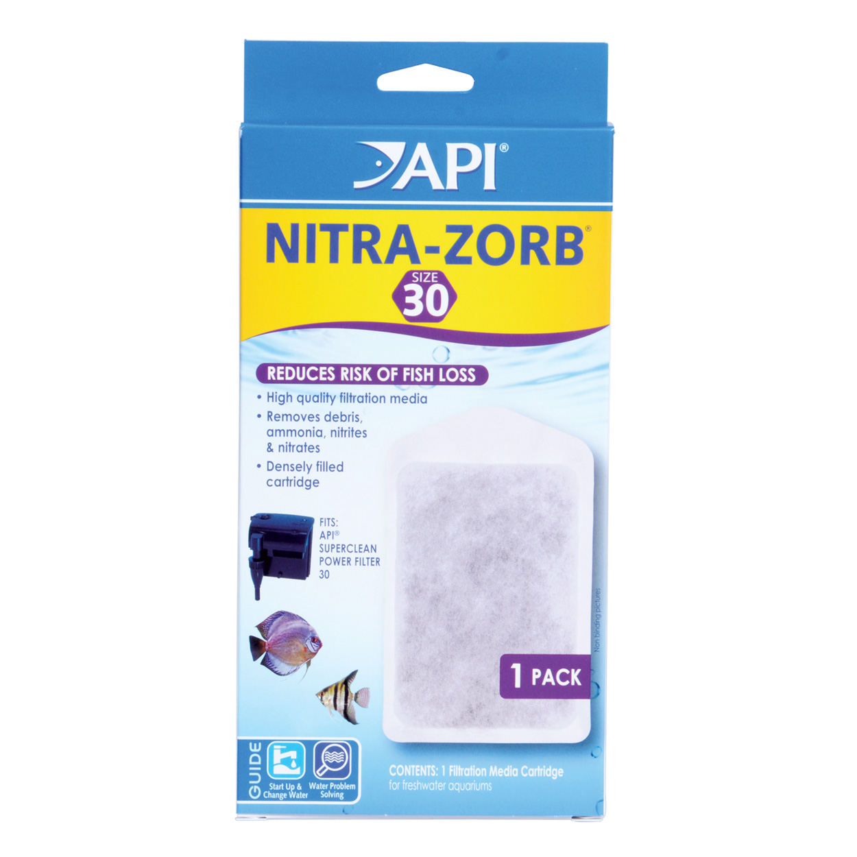 Nitra-Zorb Cartridge for SuperClean 30