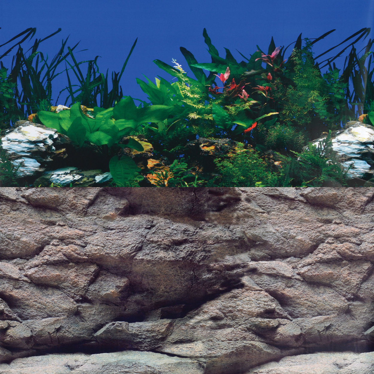 White Stone River/Rock Wall Reversible Background - 24