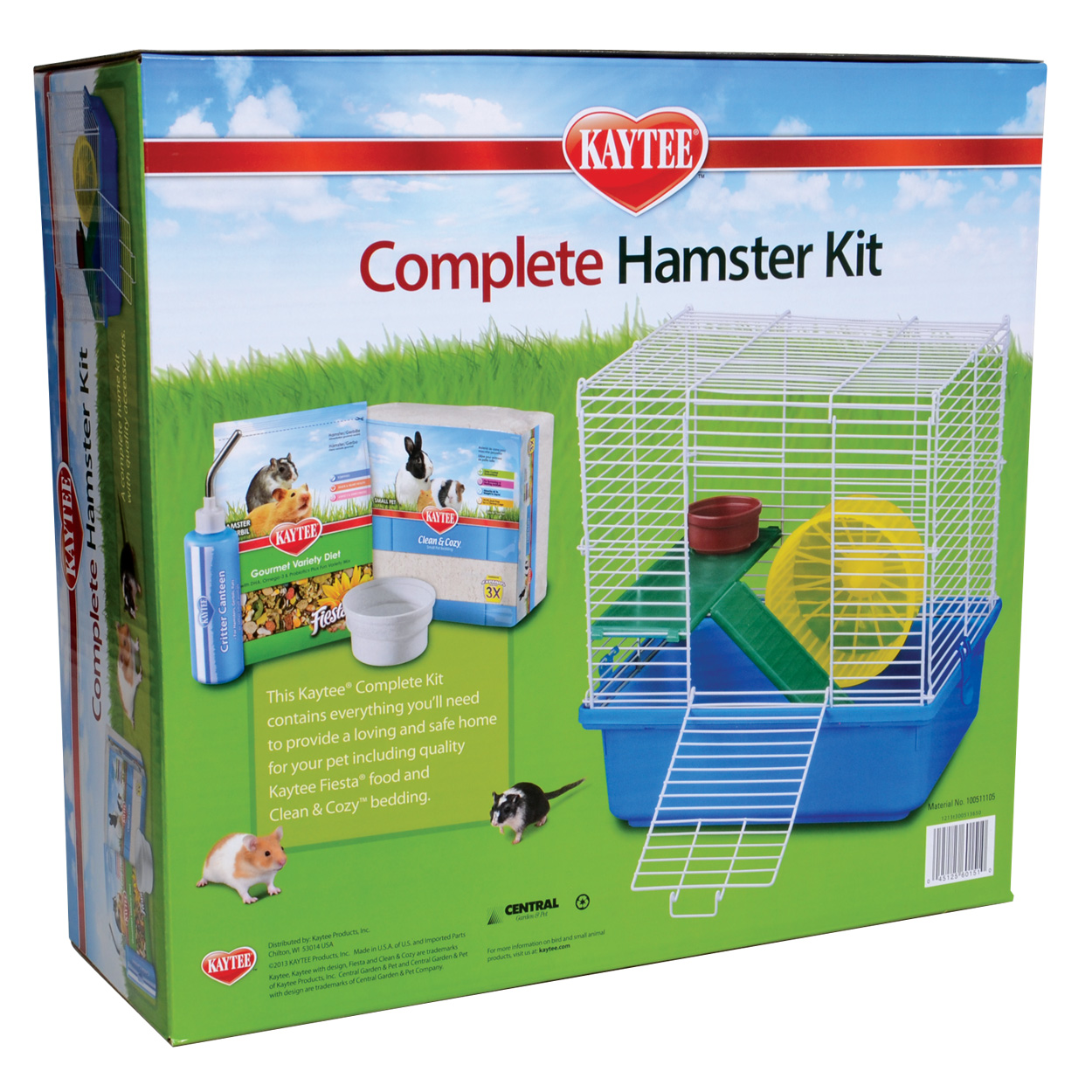 My first home complete hamster kit for Complete kit homes