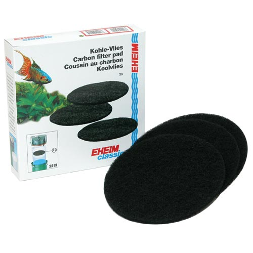 Carbon Filter Pads for 2213 Canister Filter - 3 pk