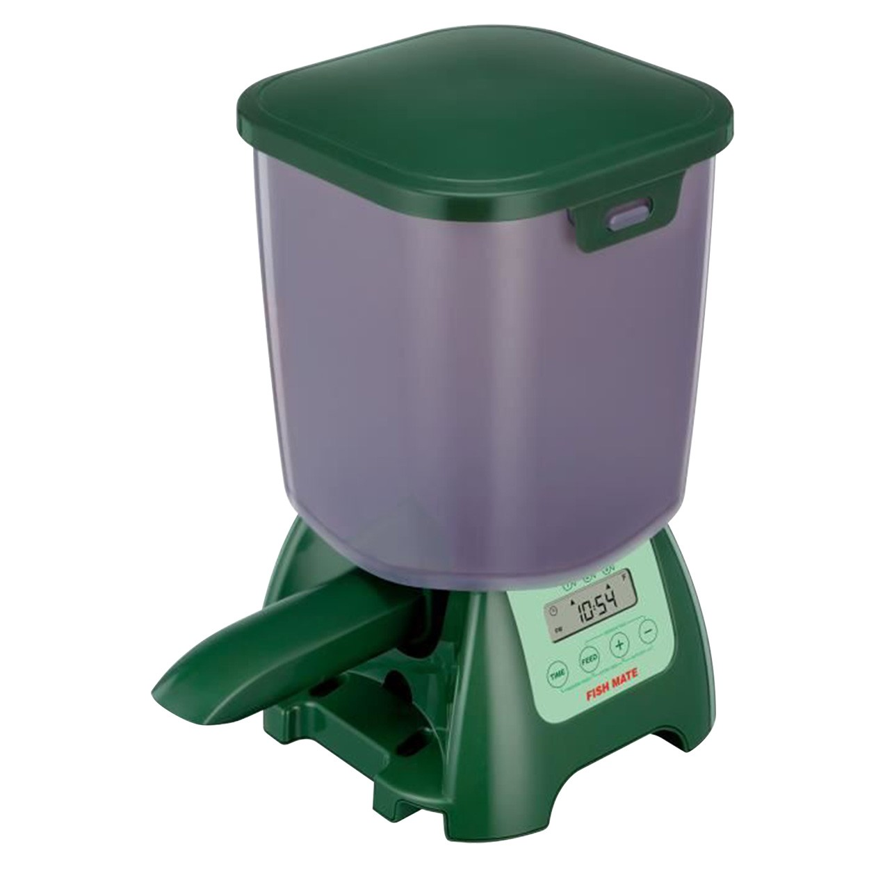 fish feeder One less thing to remember simple to program and use, the aquachef  fish feeder can automatically feed your aquarium fish both pellets or flake food up .