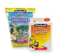 Bird Cage Litters & Liners